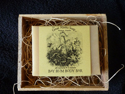 Alaskan Body Bar Bay Rum